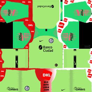 San Lorenzo 2019-20 Dls/Fts Kits and Logo Third - Dream League Soccer