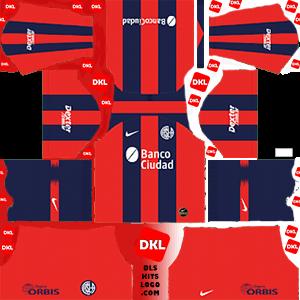 San Lorenzo 2019-20 Dls/Fts Kits and Logo Home - Dream League Soccer