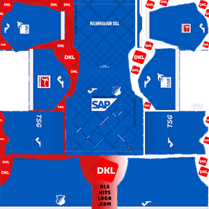 TSG Hoffenheim 2019-20 Dls/Fts Kits and Logo Home - Dream League Soccer