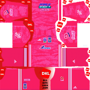 Tigres UANL 2019-2020 Dls/Fts Kits and Logo GK Away - Dream League Soccer