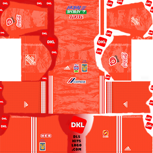 Tigres UANL 2019-2020 Dls/Fts Kits and Logo GK Home - Dream League Soccer