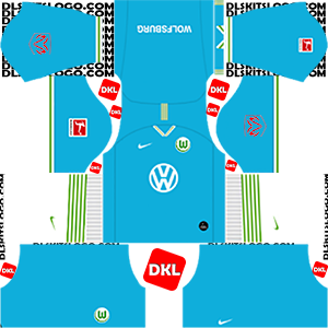 Vfl Wolfsburg 2019-2020 DLS/FTS Kits and Logo - Dream League