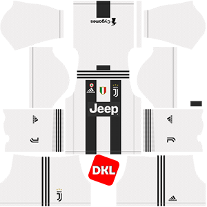 Juventus Dls/Fts Kits and Logo Home - 2018-2019 Dream League Soccer