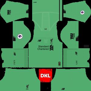 Dls Liverpool Kits 2019-2020 Nike Gk Away