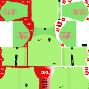 Netherlands 2019-2020 Dls/Fts Kits and Logo GK Home - Dream League Soccer
