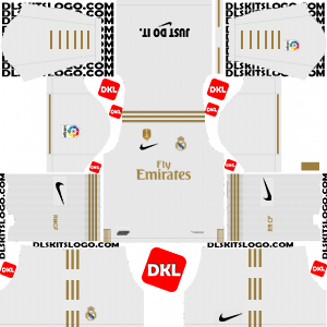 Real Madrid Nike 2019-2020 Dls/Fts Logo - Dream League Soccer