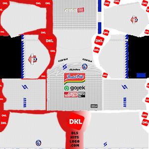 Arema FC 2019-2020 DLS/FTS Kits and Logo