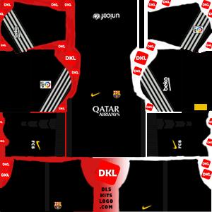 Barcelona DLS/FTS Kits and Logo 2015-2016