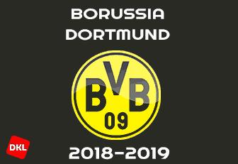 Borussia Dortmund 2018-2019 Dls Kits/Logo