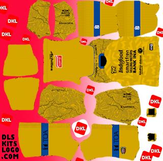 Bali 2020 DLS Kits Forma gk-away - Dream League Soccer