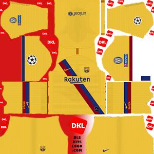 F.C. Barcelona 2019-2020 DLS/FTS Kits and Logo
