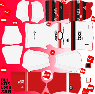 Flamengo 2020 DLS Kits Forma away- Dream League Soccer