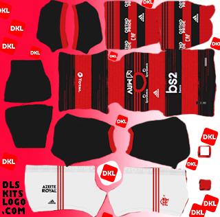 Flamengo 2020 DLS Kits Forma-home- Dream League Soccer