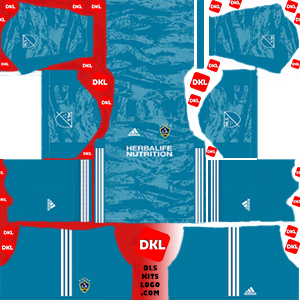 La Galaxy 2020 DLS Kits Forma gk away - Dream League Soccer