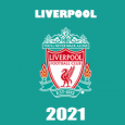 Liverpool 2021 DLS Kits Forma cover - Dream League Soccer