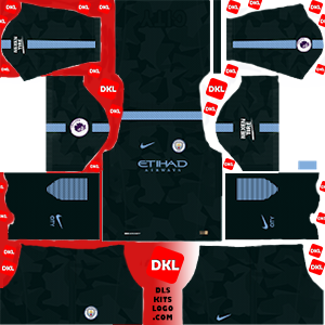 Manchester City 2017-2018 DLS Kits Forma third- Dream League Soccer