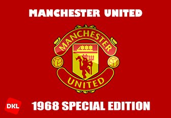 Manchester United 1968 DLS Kits Forma cover- Dream League Soccer
