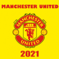 Manchester United 2021 DLS Kits Forma Cover - Dream League Soccer