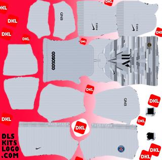PSG-2020 DLS Kits Forma GK Third - Dream League Soccer
