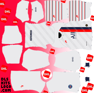PSG-2020 DLS Kits Forma Third - Dream League Soccer