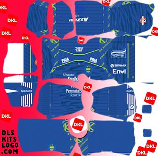 Persib-Bandung-2020 DLS Kits Forma Home- Dream League Soccer