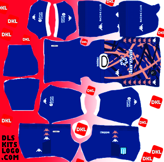 Racing-Club-2021-DLS Kits Forma Gkthird- Dream League Soccer