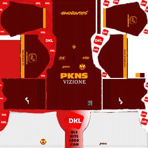 Selangor-FA 2020 DLS Kits Forma home- Dream League Soccer