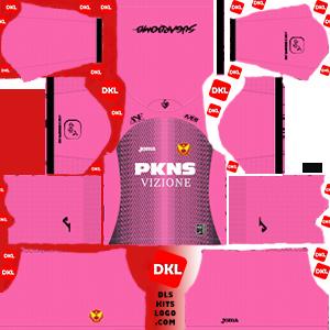 Selangor-FA 2020 DLS Kits Forma gk-home- Dream League Soccer
