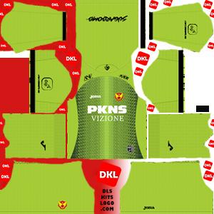Selangor-FA 2020 DLS Kits Forma gk-away- Dream League Soccer