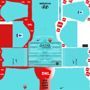 AS roma 2019-2020 DLS Kits Forma gk=away - Dream League Soccer