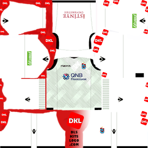 Trabzonspor 2018-2019 DLS Kits Forma kaleci2 - Dream League Soccer