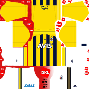 fenerbahce-fantastik DLS Kits Forma ev sahibi- Dream League Soccer