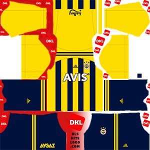fenerbahce-fantastik DLS Kits Forma ev sahibi2- Dream League Soccer