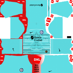san-lorenzo-2020 DLS Kits gkhome- Dream League Soccer