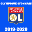 olympique-lyonnais-2019-2020 DLS Kits cover- Dream League Soccer
