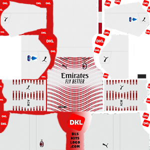 Ac Milan-2020-2021-DLS Kits away- Dream League Soccer