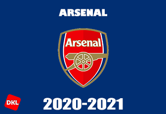 Arsenal-2020-2021-DLS Kits Forma Cover- Dream League Soccer
