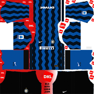 Inter Milan-2020-2021-DLS Kits home- Dream League Soccer