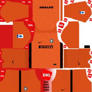 Inter Milan-2020-2021-DLS Kits gk-home- Dream League Soccer