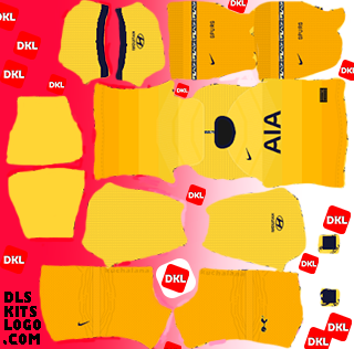 Tottenham-Hotspur-2020-2021-DLS Kits third- Dream League Soccer