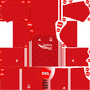 Aberdeen 2019-2020 DLS Kits home-Dream League Soccer
