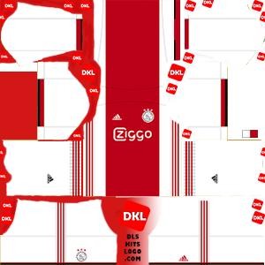 Ajax 2019-2020 DLS Forma home- Dream League Soccer