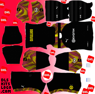 Dls Borussia Dortmund Kit 2020-2021 Gk Away