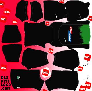 Denizlispor 2020-2021 DLS Kits Forma alternatif2- Dream League Soccer