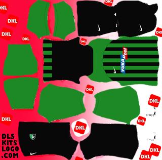 Denizlispor 2020-2021 DLS Kits Forma evsahibi- Dream League Soccer