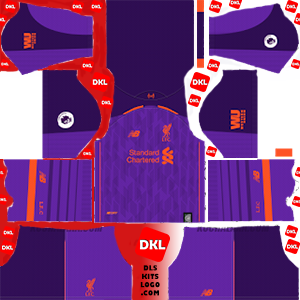 Liverpool 2018-19 DLS Kits Form away-Dream League Soccer