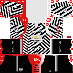 Manchester United 2021 DLS Kits Forma third2- Dream League Soccer