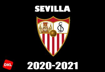 Sevilla 2020-2021 DLS Kits Form cover-Dream League Soccer