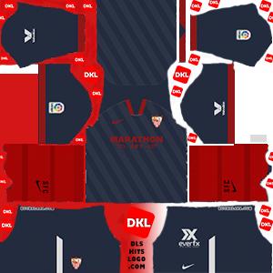 Sevilla 2020-2021 DLS Kits Form third-Dream League Soccer