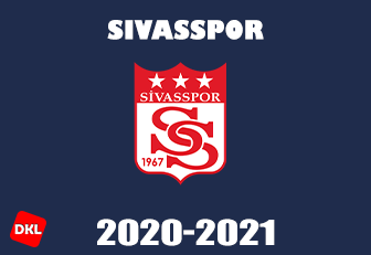 Sivasspor 2020-2021 DLS Kits Forma cover - Dream League Soccer